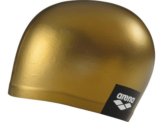 arena Logo Moulded Bonnet de bain, gold
